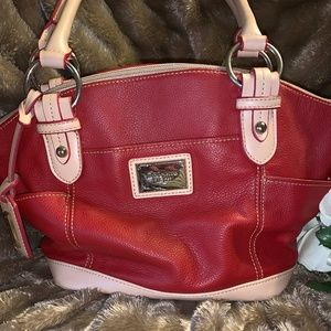 Tignanello Red Purse